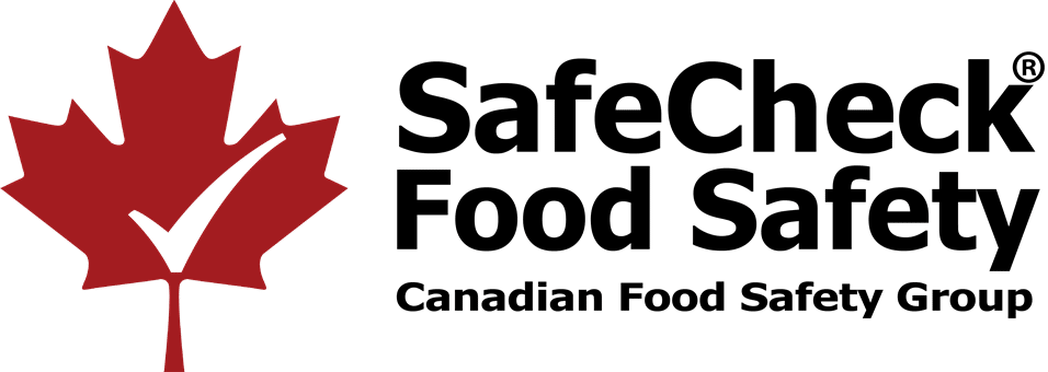 Canadian Food Handler Course – SafeCheck $24.98 Logo