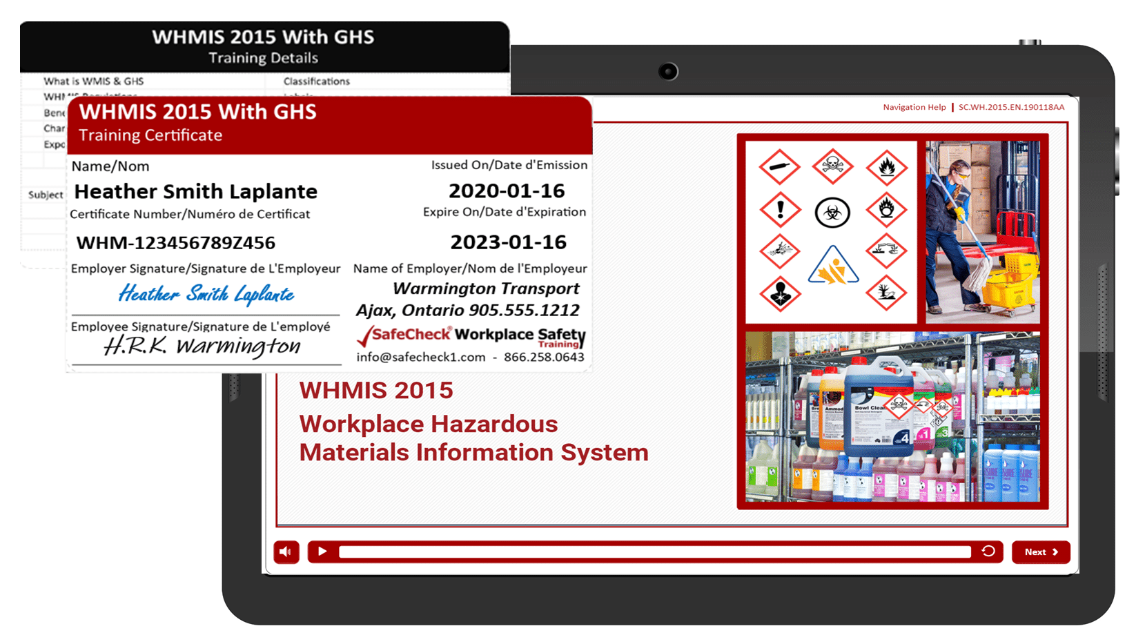 WHMIS-2015 W GHS