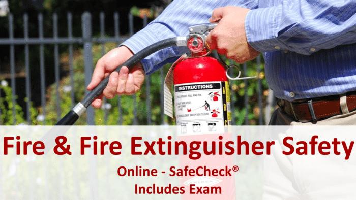 SafeCheck Fire Safety Awareness Training