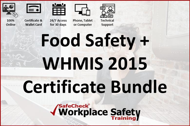 Food Safety + WHMIS Bundle