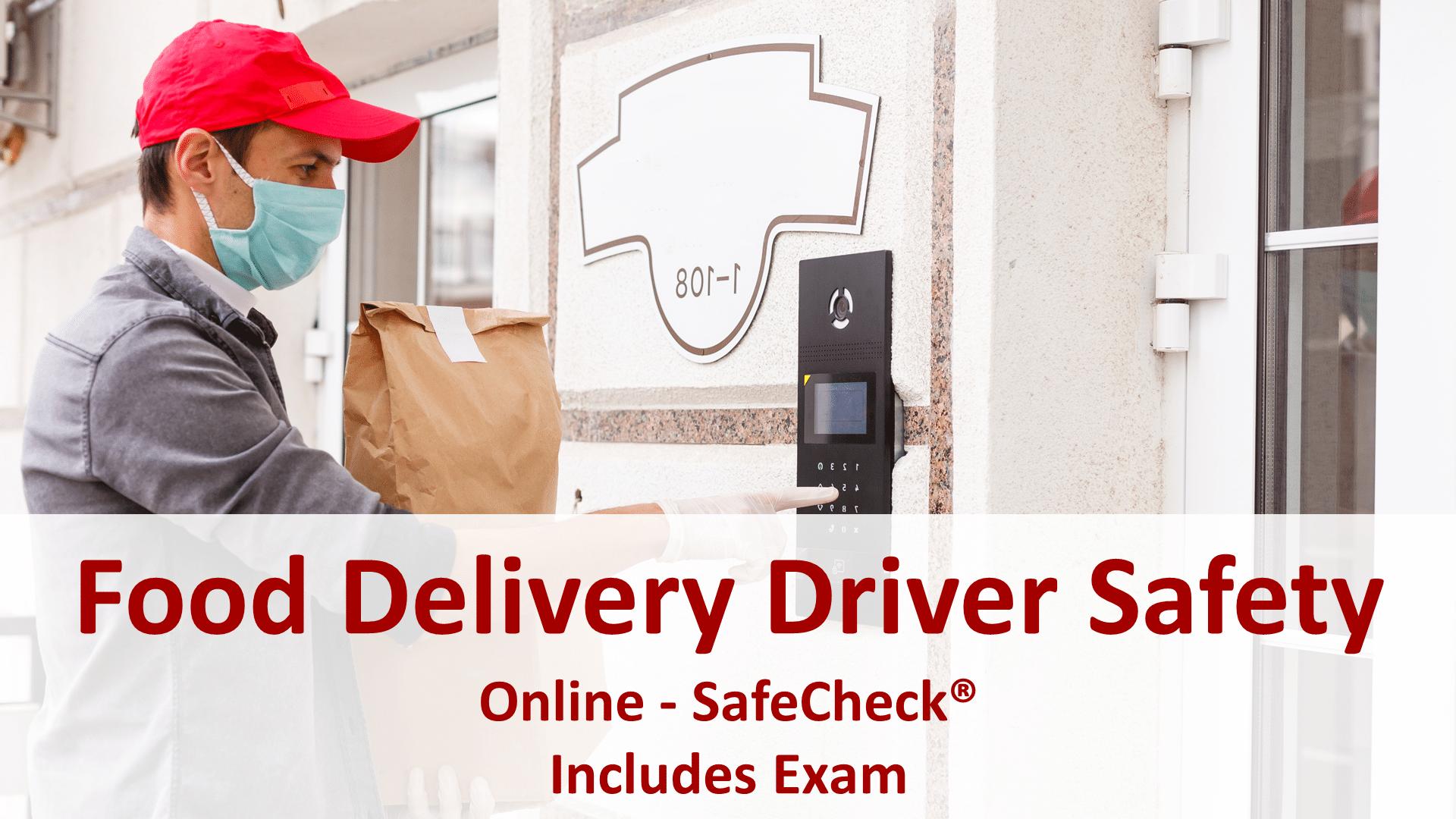 SafeCheck Food Delivery Driver Safety