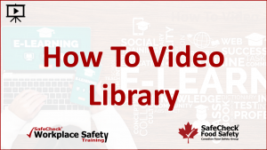 How To Video Library