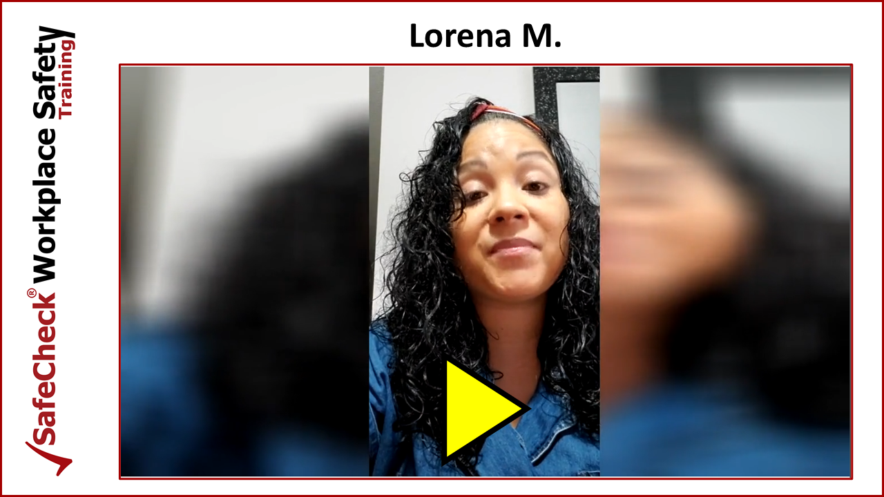 SafeCheck Client Lorena M.