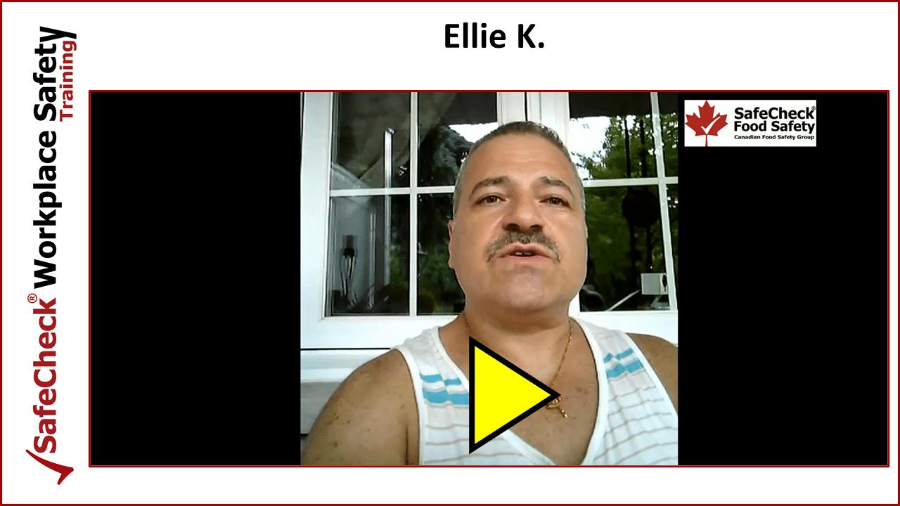 SafeCheck Client Ellie K.
