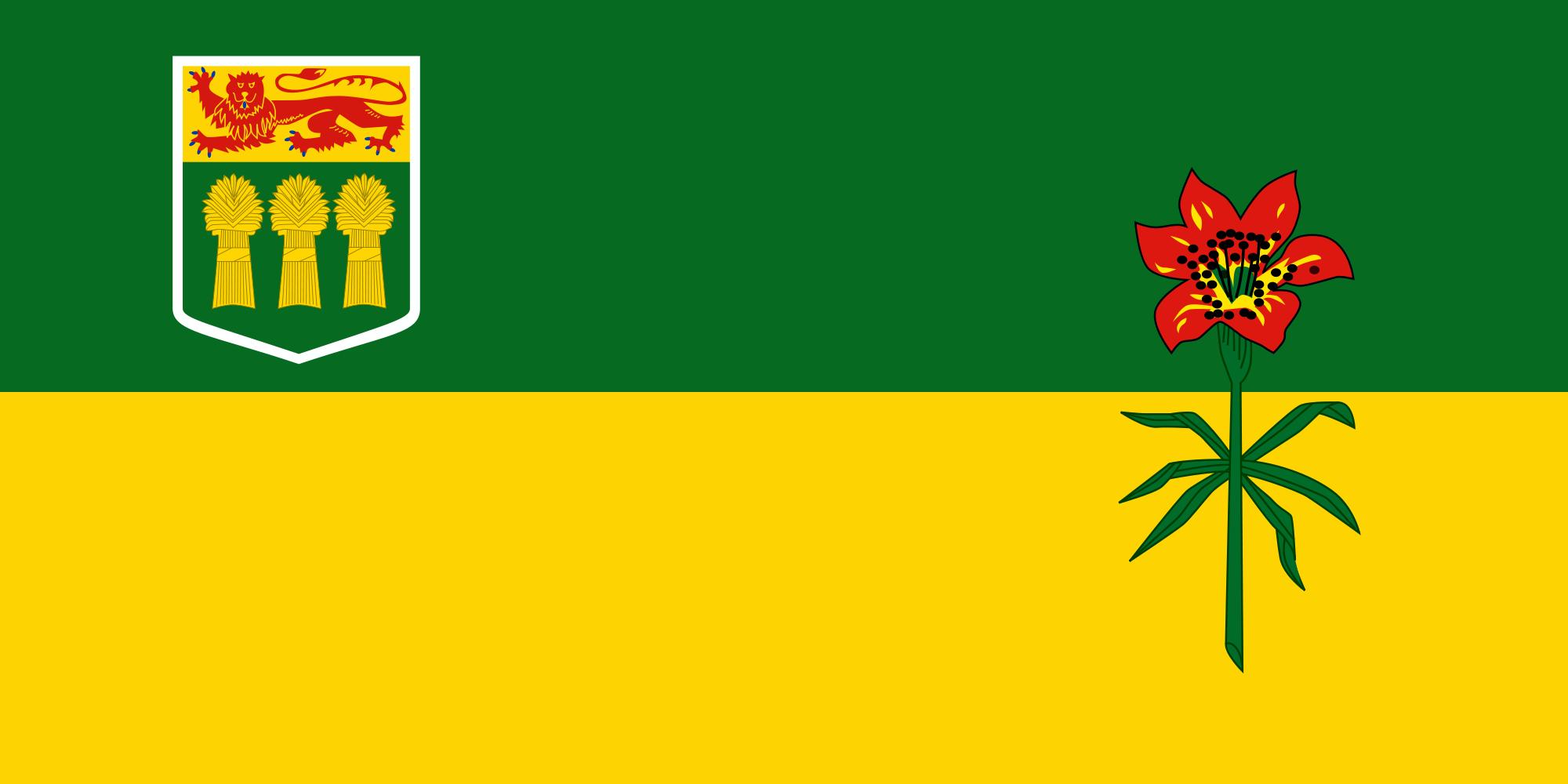Flag - Saskatchewan