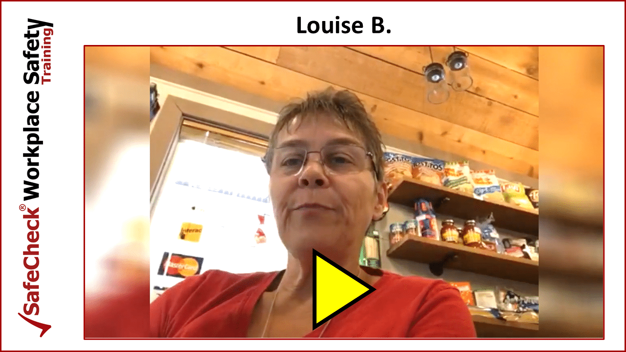 SafeCheck Client Louise B