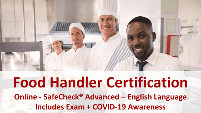 Canadian Food Handler Course - English Language