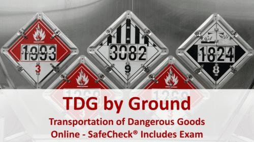 SafeCheck TDG By Ground
