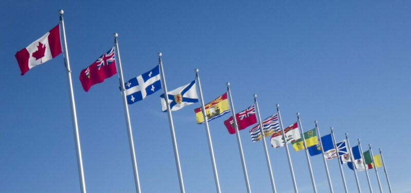 Canadian Provincial Flags
