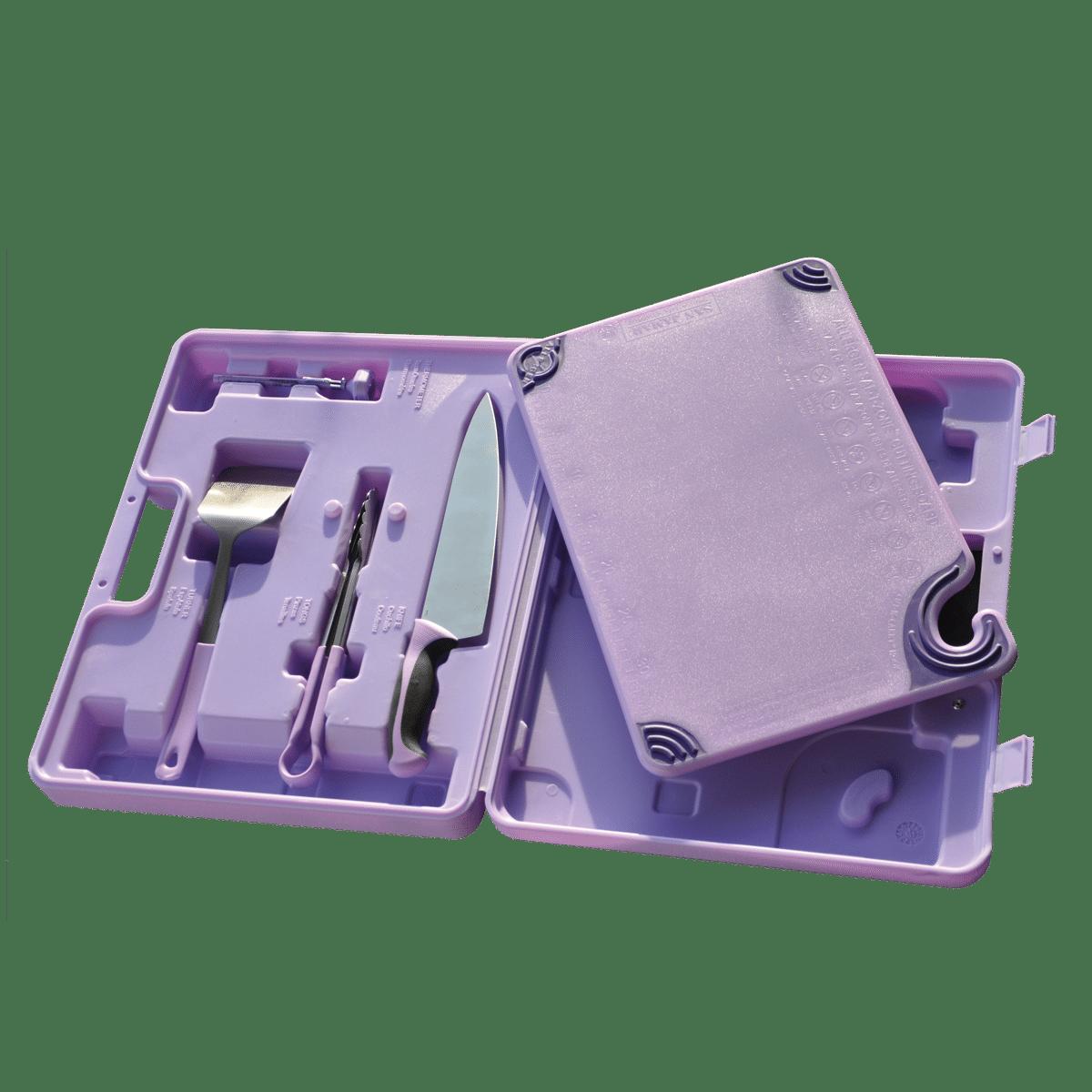 Allergen Saf-T-Zone Tools From SanJamar to ensure separation of allergen containing foods