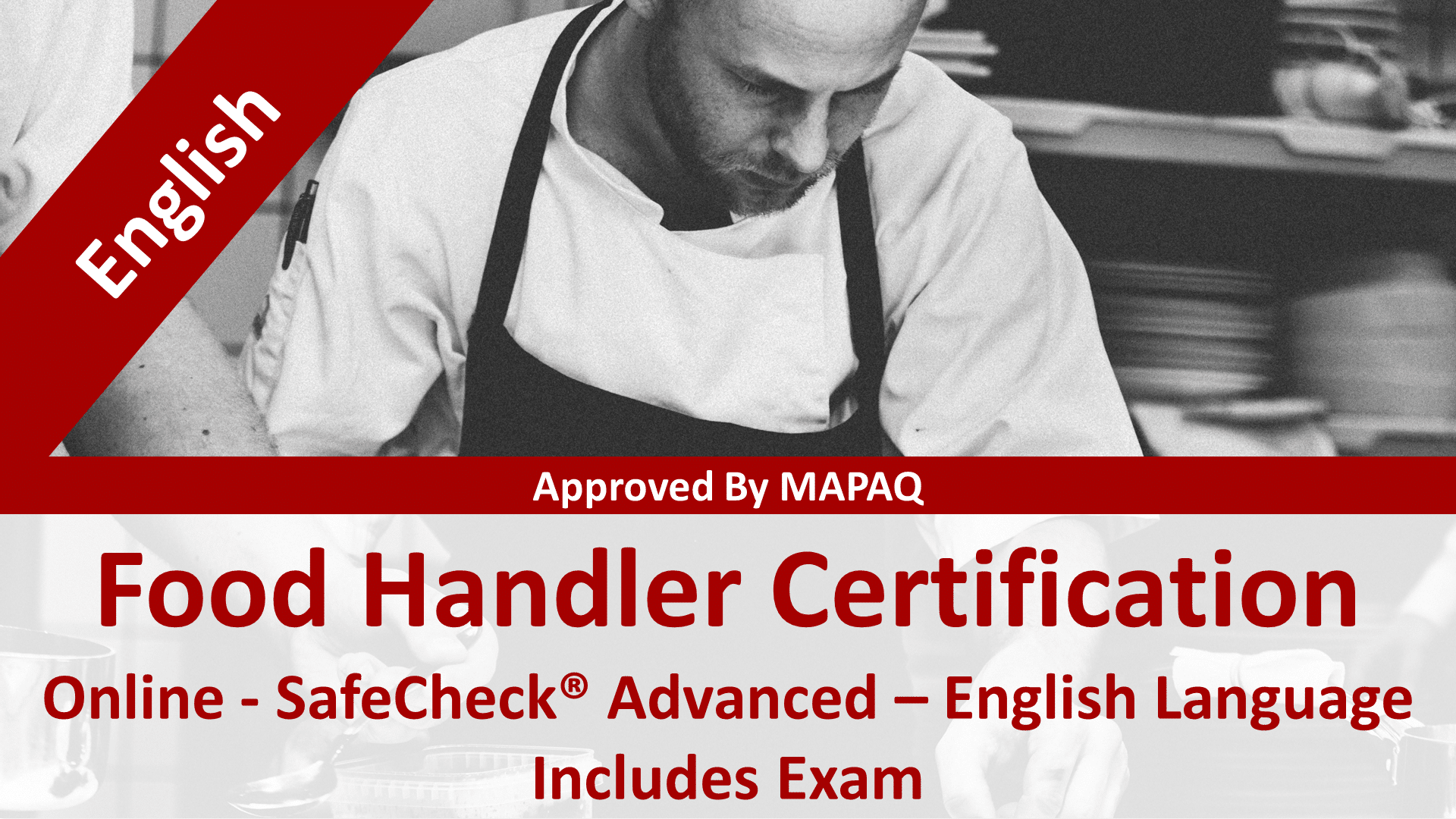 Food Handler Certification - MAPAQ