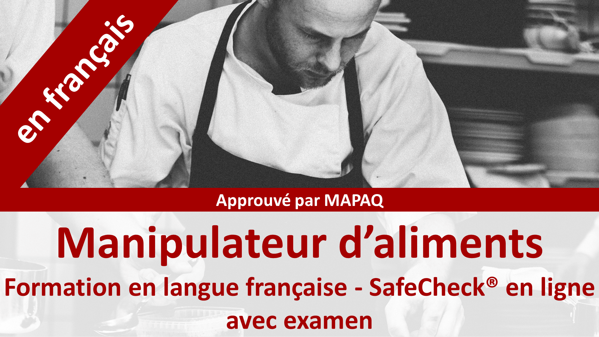 Manipulateur d'aliments - MAPAQ