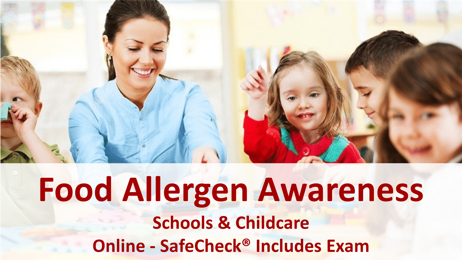 Food Allergen Awareness for Schools and Childcare