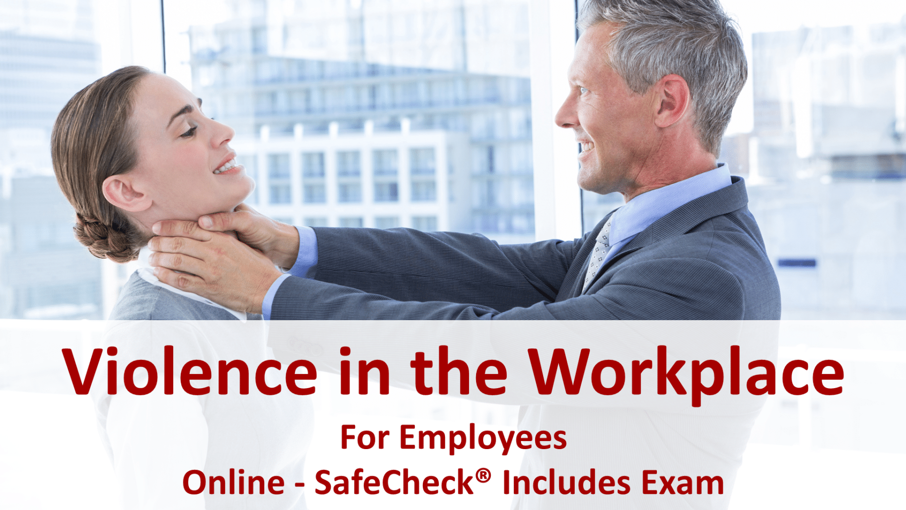 SafeCheck Violence in the Workplace Training for Employees