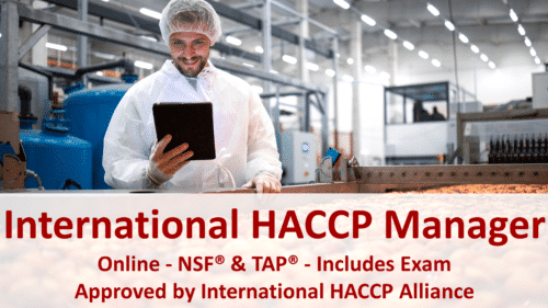 NSF - HACCP Manager